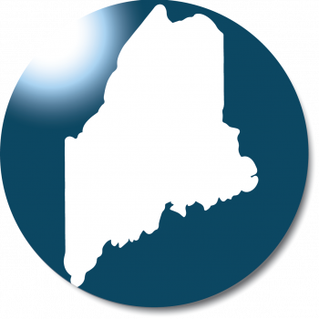 Round State of Maine University of Maine System Logo with No text - Like to Image file