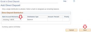 MaineStreet Bank Account Nickname