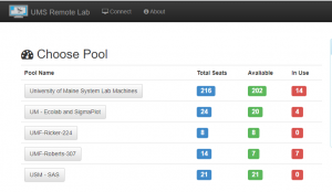 Remote Lab Screenshot