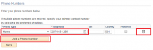 MaineStreet Phone Numbers