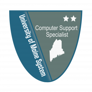 Link to Computer Support Specialist Level 2 Badge (External Site)