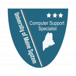 Link to Computer Support Specialist Level 3 Badge (External Site)