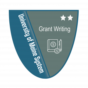 Link to Grant Writing Level 2 Badge (External Site)