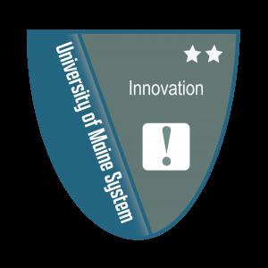 Link to Innovation Level 2 Badge (External Site)