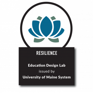 Resilience Badge from Education Design Lab