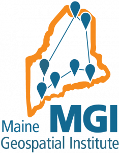 Logo for MGI - Maine Geospatial Institute