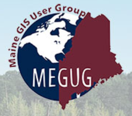 Maine GIS User Group Logo - Link to Election Mapping Video (External Site)