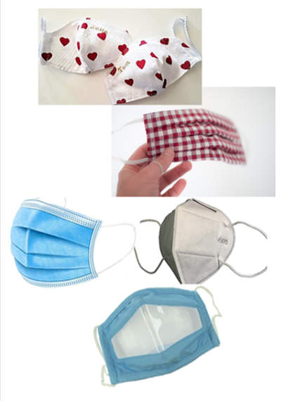 disposable face coverings